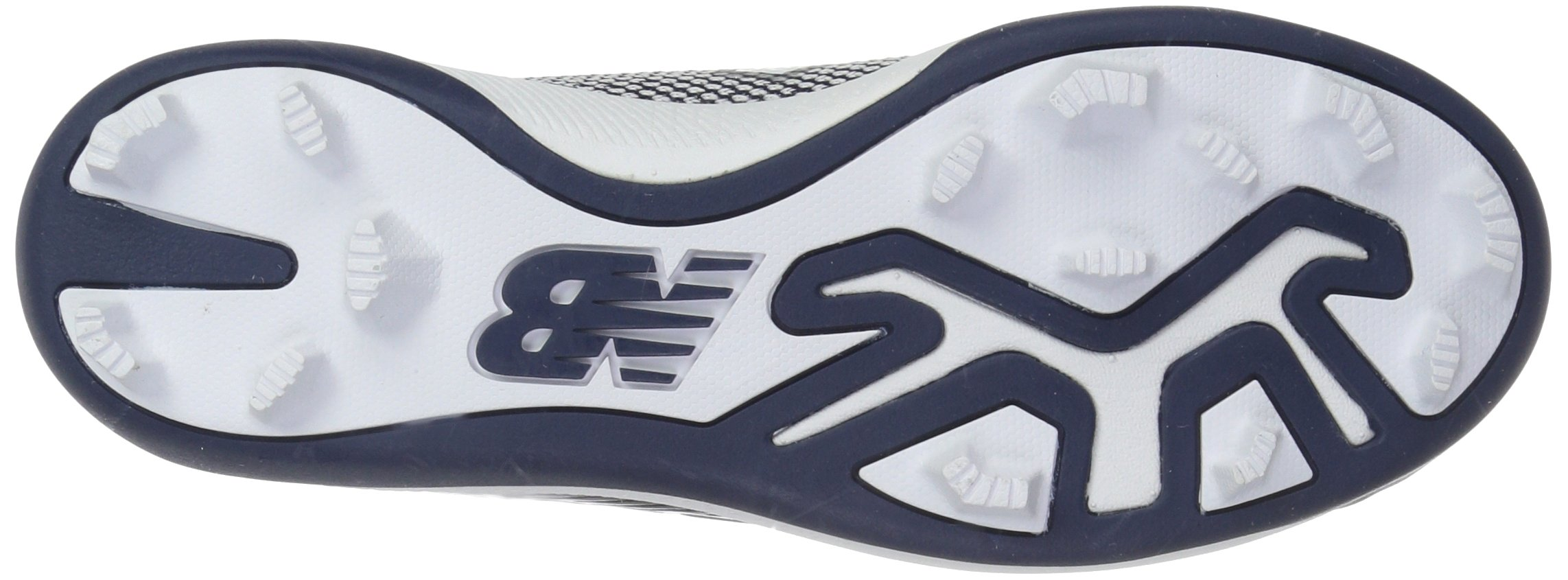 New Balance Boys' 4040v4, Navy/White, 1 W US Little Kid by New Balance (Image #3)