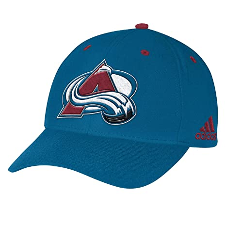 6588ffe2c46 Image Unavailable. Image not available for. Color  adidas Colorado  Avalanche NHL Structured Cap ...