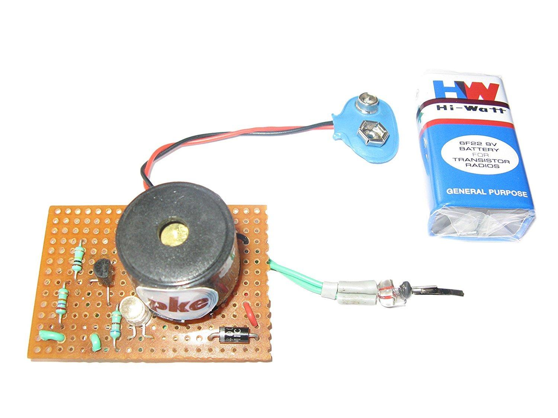 Pke Fire Alarm Circuit Project Door Open Uf Capacitor Refrigerator