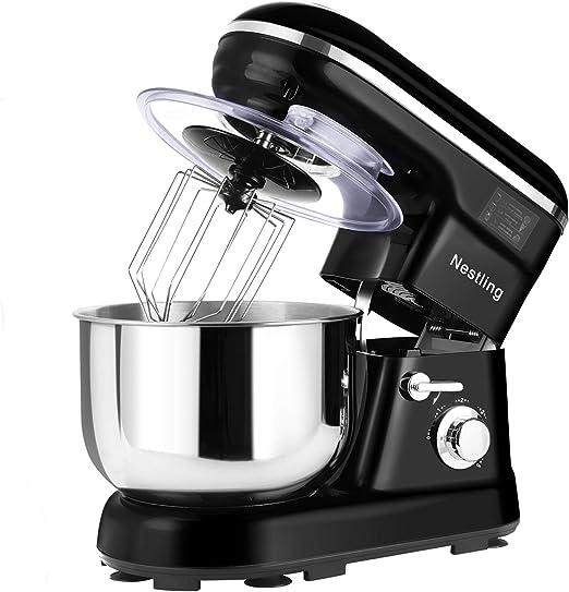 Nestling - Robot de cocina (1200 W, silencioso, 5 l, 5 velocidades ...
