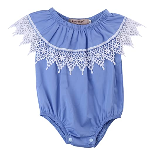 Girls' Outfits & Sets (Newborn-5T) Clothing, Shoes & Accessories Baby Girl Off Shoulder Romper Bodysuit Sunsuit Clothes Romper Jumpsuit Outfits