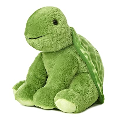 Aurora Plush Animal- Turtle 14 in.: Toys & Games