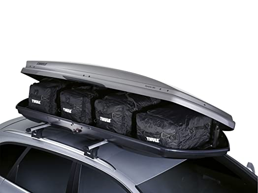 Thule 8006 Go Pack Set Roof Top Box Cargo Carry Bags Of 4