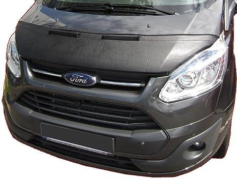 Amazon Com Hood Bra Front End Nose Mask For Ford Transit Tourneo Custom 2012 2017 Bonnet Bra Stoneguard Protector