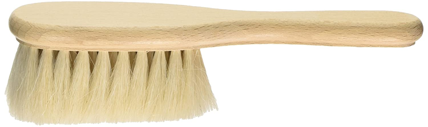Hydrea Wooden Baby Brush with Soft Goats Hair Bristles BabyCentre HYD10
