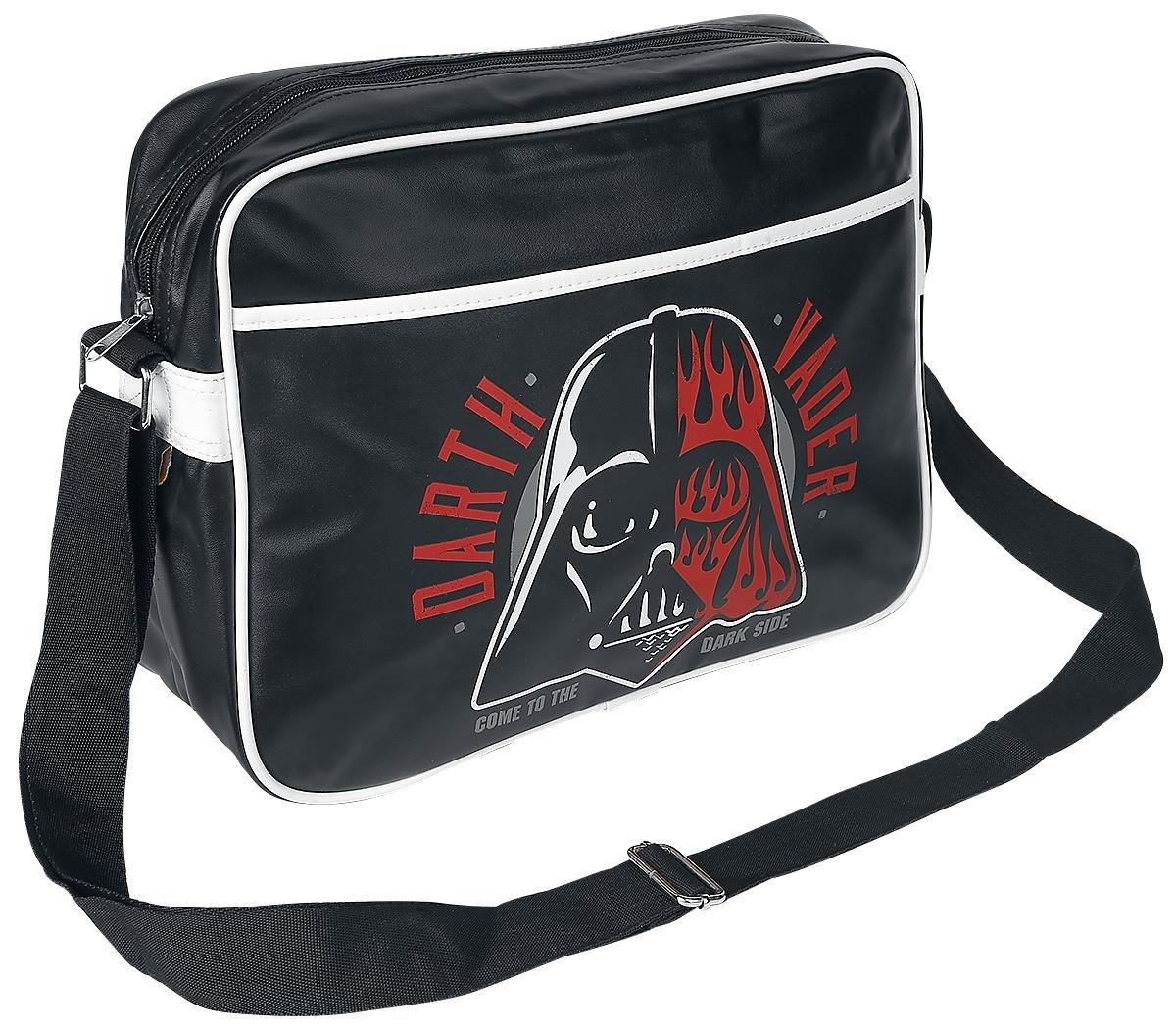 Retro Darth Vader Dark Side Star Wars Messenger Bag