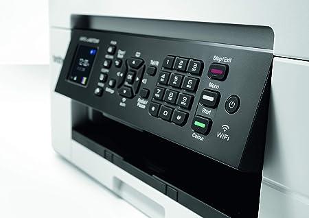 Impresora multifunción Brother mfc-j497dw 4 en 1| Couleur|écran LCD|a4|chargeur automático de documents|Impression Recto-Verso, escáner, copiadora, télécopie|wi-fi/Wi-Fi Direct|: Amazon.es: Informática