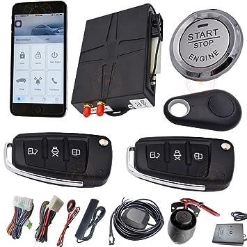 Automóvil Coche sistema de alarma GSM con GPS seguimiento en línea y ...