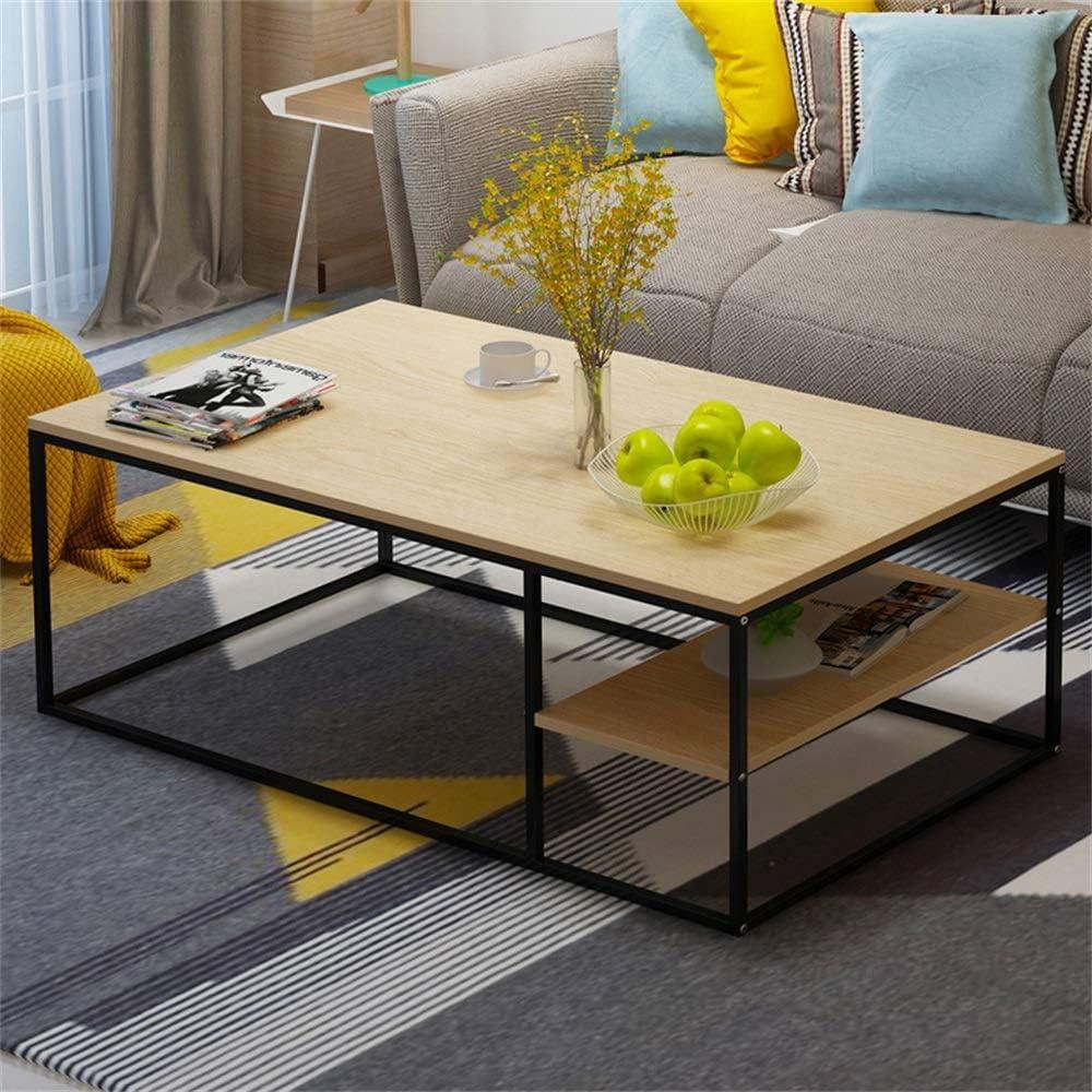 Te Koop Moderne rechthoekige salontafel van MDF decor sofa side tafelblad gemakkelijk te reinigen bijzettafel voor thuis en slaapkamer wood 500cCXR