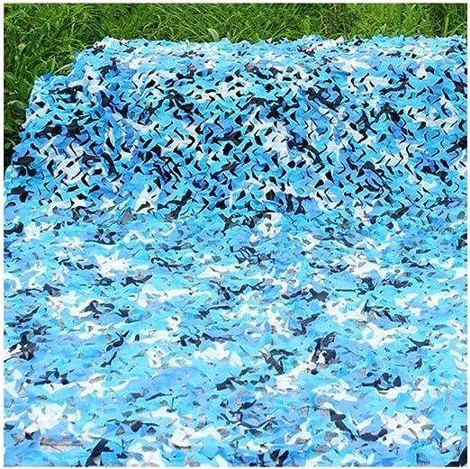 KXBYMX Mallas de sombreo, Mallas de sombreo Transpirable Exterior Neta Decorativa Camuflaje Marino con Aislamiento Protector Jardín Flor Planta Protector Solar (Color : Azul, Tamaño : 6x8m): Amazon.es: Hogar