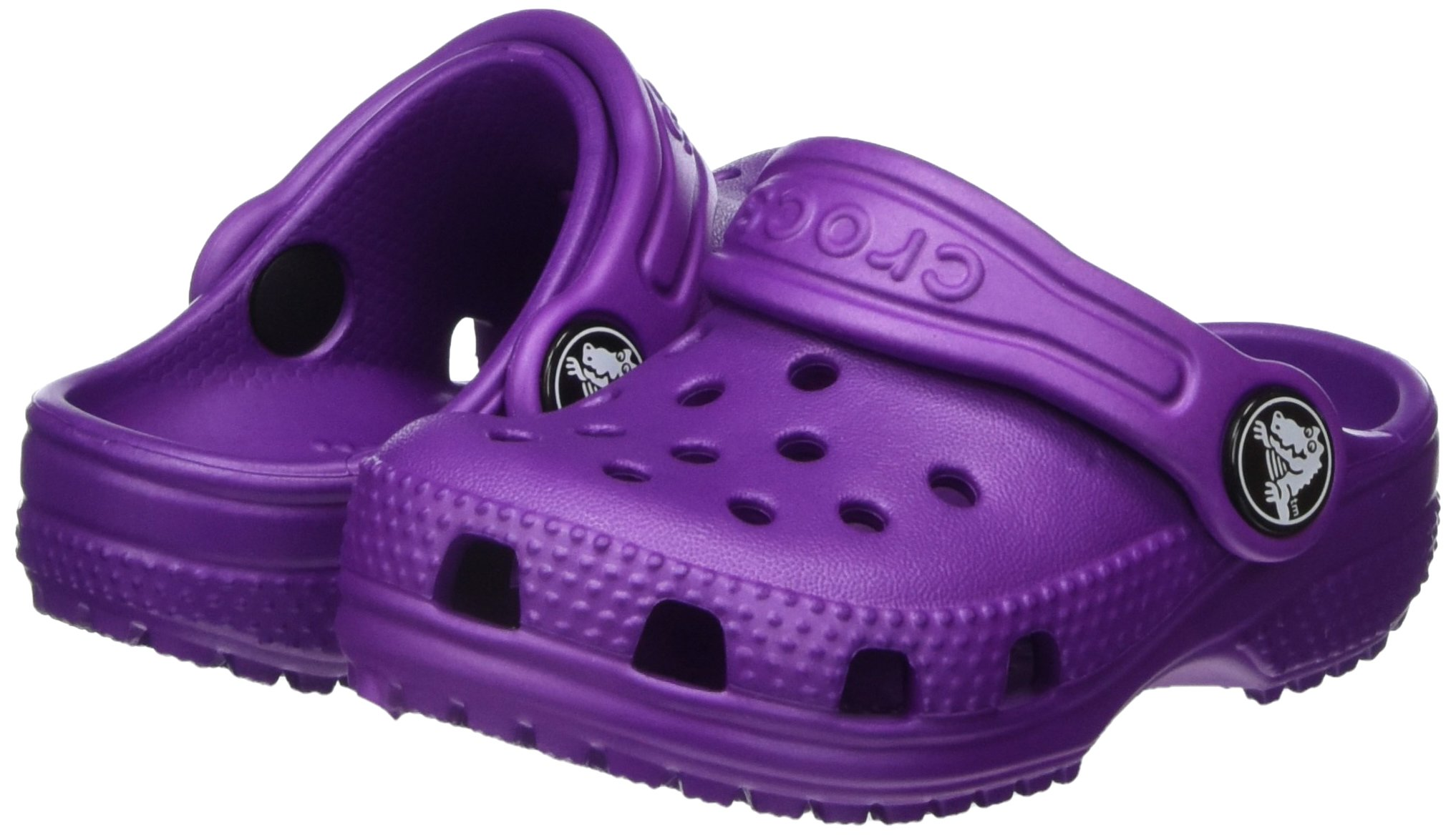 Crocs Kid's Classic Clog K Shoe, Amethyst, 7 M US Toddler by Crocs (Image #6)