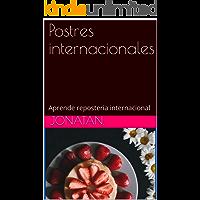 Postres internacionales: Aprende reposteria internacional