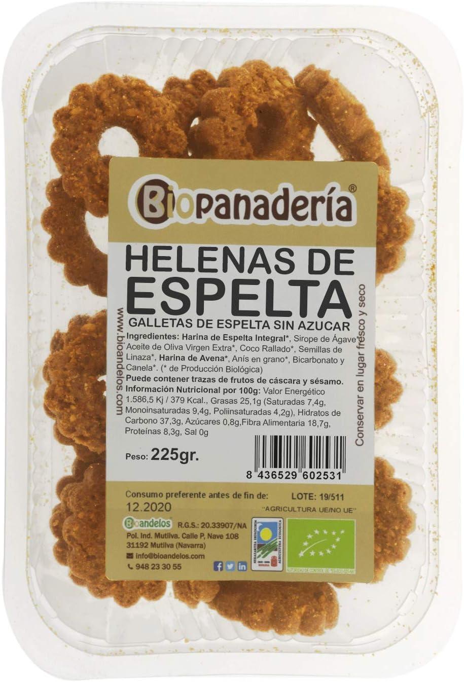 Biopanadería Roscos Integrales Ecológicos (Espelta (SIN AZÚCAR y SIN HUEVO)): Amazon.es: Alimentación y bebidas
