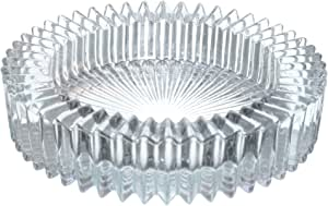 طفاية سجائر زجاج قطعة واحدة من ستار - شفاف