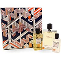 Hermes Terre Dhermes by Hermes for Men - 3 Pc Gift Set  EDT Spray 220ml