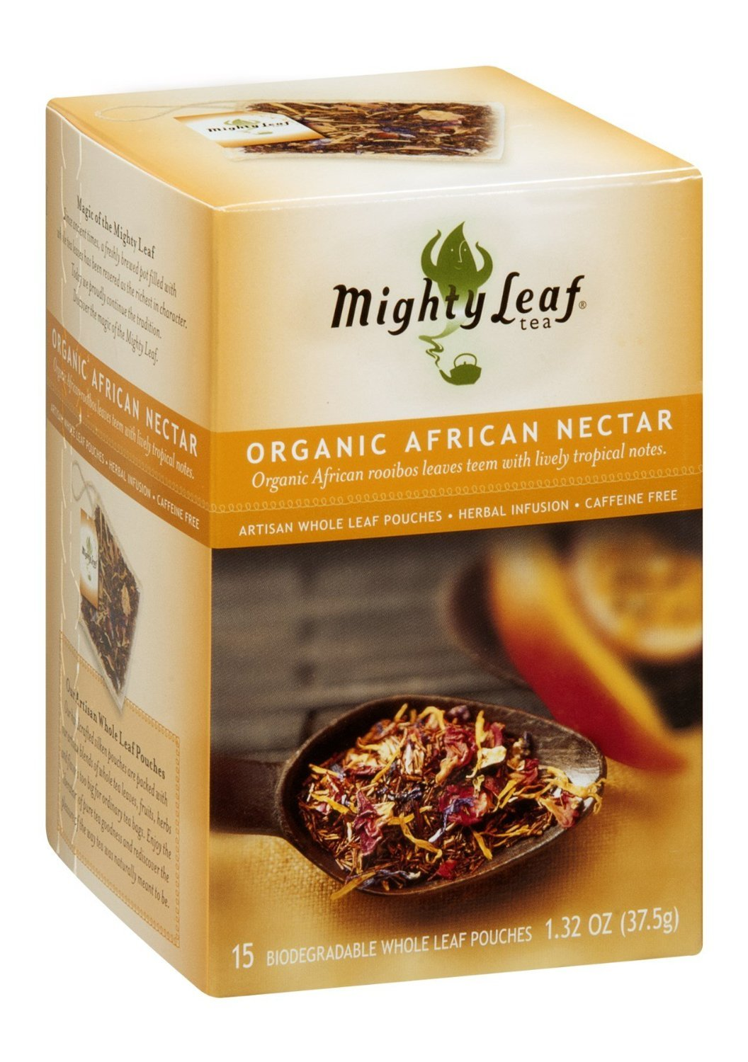 Mighty Leaf Tea African Nectar, 15-Count (Pack of 6) ( Value Bulk Multi-pack) by Mighty Leaf (Image #1)