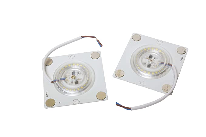Plafoniere Quadrate Led : Lineteckled e c piastrina led quadrata con attacco