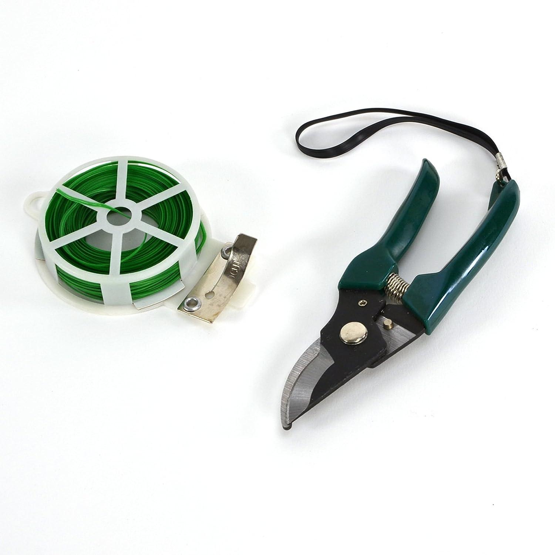 Regalo para jardinero Incluye herramientas Plant Theatre Bolsa esencial de herramientas de jard/ín