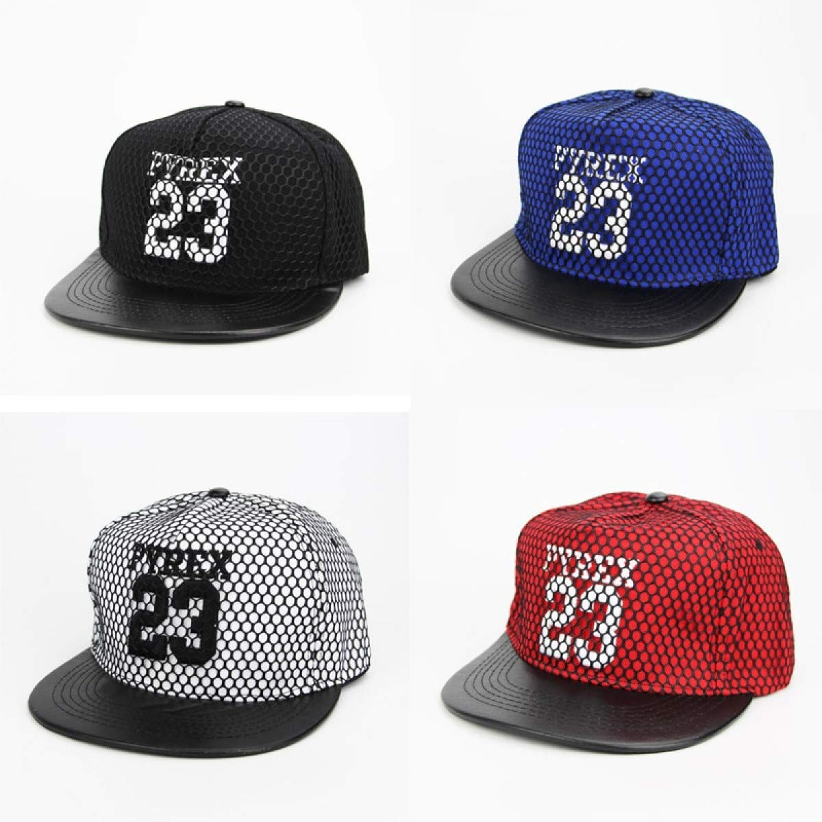 6704bb95f7a 2018 New Men Womens 23 Jordan Letters Solid Color Patch Baseball Cap Hip  Hop Caps Leather Sun Hat Snapback Hats Gift Embroidery White at Amazon  Men s ...