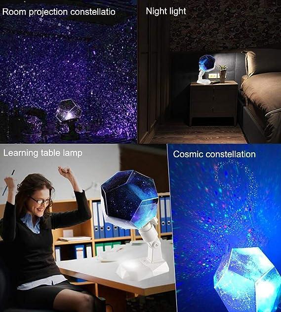 Proyector Constelación, Estrellas Luz de 12 Constelaciones Lámpara ...