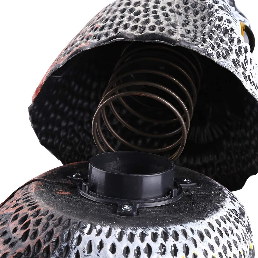 DeWin T/ête de Hibou Rotatif leurre Insectes Insectes r/épulsifs de Protection Corbeau effaroucheur effaroucheur pour d/écor de Jardin Silencieux