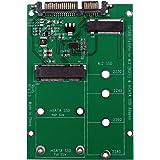 2-in-1 Adattatore M.2 NGFF o mSATA SSD a SATA III Adapter Board, Ideale per Recupero di Dati