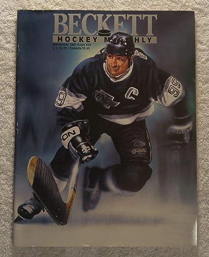 Wayne Gretzky - Los Angeles Kings - Beckett Hockey Card Monthly Magazine -   25 - 1aadb5616