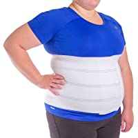 BraceAbility Plus Size Bariatric Abdominal Binder -Fits 46 -62 Circumference 3XL