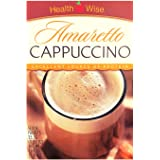 Healthwise - High Protein Diet Hot Drink - Amaretto Cappuccino - Instant Weight Loss Cappuccinos - 15g Protein - Low Sugar -