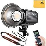 Godox SL-200W LUX LED連続ビデオライト カメラ&ビデオカメラ用 200ws 5600±200K 12000(1m)