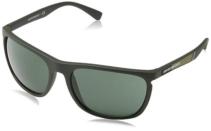 42a89a72058 Image Unavailable. Image not available for. Colour  Emporio Armani Unisex s  Earmani 4107 Sunglasses