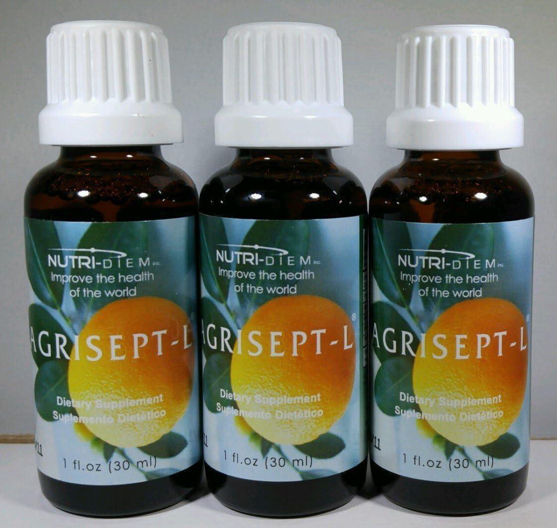 Agrisept – L Antioxidant 30ml 1 oz 3 bottles