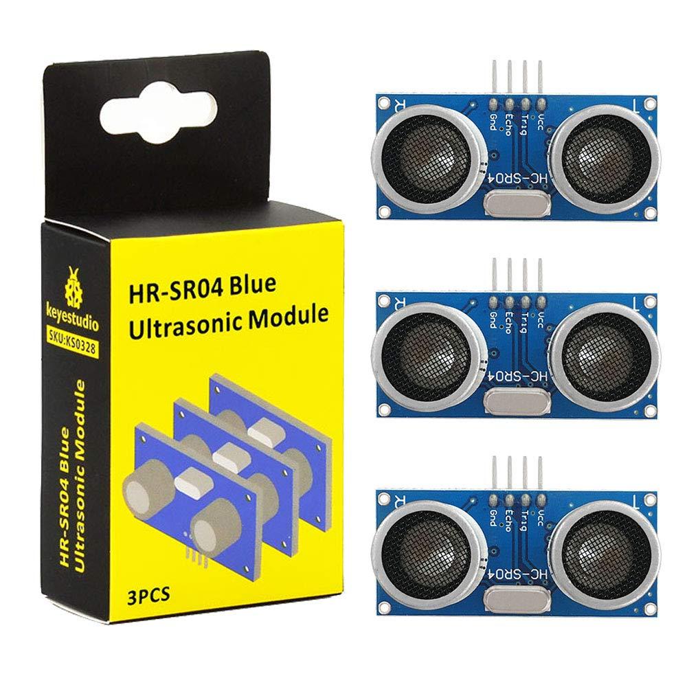 Amazon com: KEYESTUDIO Ultrasonic Sensor Hc-Sr04 Distance