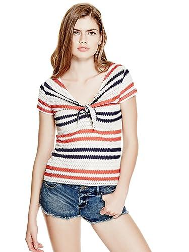maglia donna Guess modello Mary W72P50K5HU0