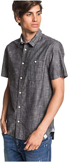 Quiksilver Ostala - Camisa de Manga Corta para Hombre EQYWT03997: Amazon.es: Ropa y accesorios