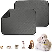 Befx Guinea Pig Fleece Cage Liners, Washable Guinea Pig Pee Pads 2Pack, Waterproof & Anti Slip Small Animals Bedding…