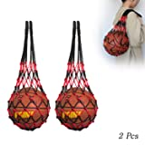 Hatisan 2Pcs Sports Ball Holder with Long Bold