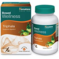 Himalaya Herbals Triphala, GUT Detox, Colon Cleanser, Supports Digestion, Relieves Constipation, Herbal Veggie Capsules