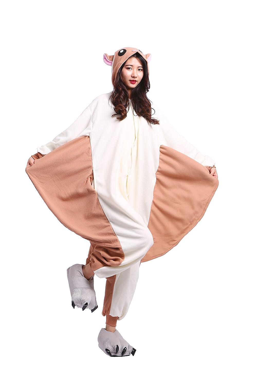 YUWELL Unisex Onesies Pajamas Kigurumi Adulto Animale Cosplay Halloween Animale Pigiama Carnevale Halloween Costume Attrezzatura