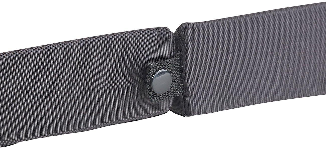 Gep/äcksicherung PEARL Kofferraum Sicherung: Kofferraum-Gep/äckfixierung aus Schaumstoff//Nylon mit Klett 3-teilig