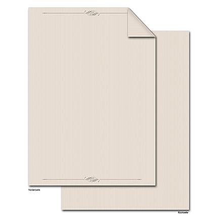 50 Hojas DIN A4 de alta calidad de diseño de impresoras de texto ...