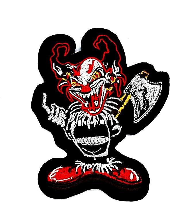 Joker Smile Zombie Ghost Moto y para planchar parche bordado ...