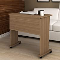 TECNOMOBILI Demountable Office Desk w/ Castors, Oak