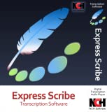 Software : Express Scribe Transcription Software - Use with Foot Pedal for Transcription [Download]