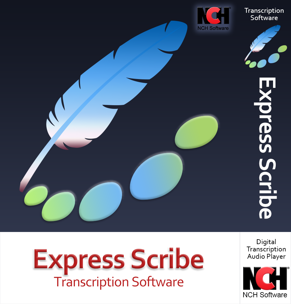 Express Scribe Transcription Software - Use with Foot Pedal for Transcription [Download] ()