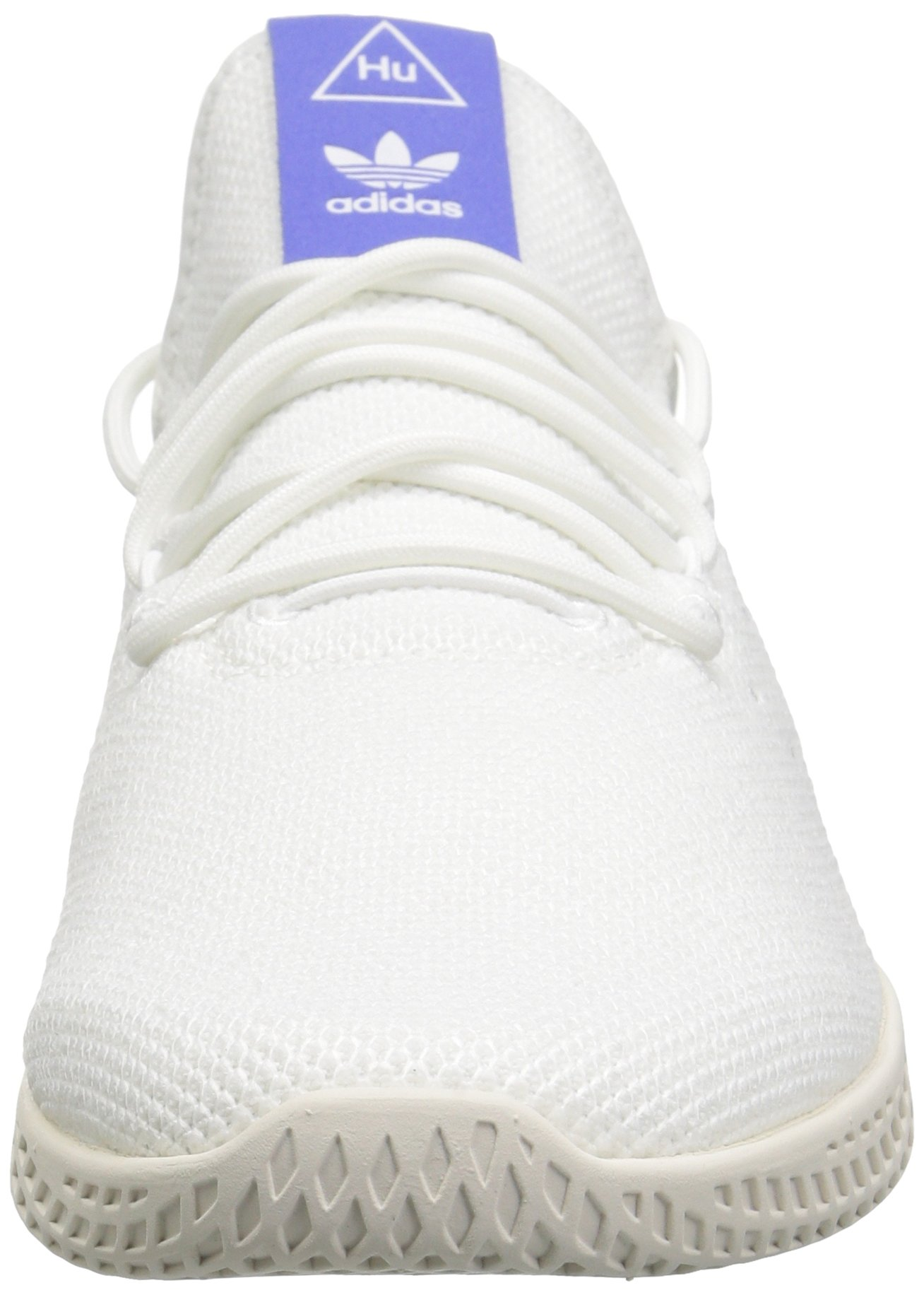 adidas Originals Men's Pharrell Williams Tennis HU Running Shoe, White/Chalk, 5.5 M US by adidas Originals (Image #4)