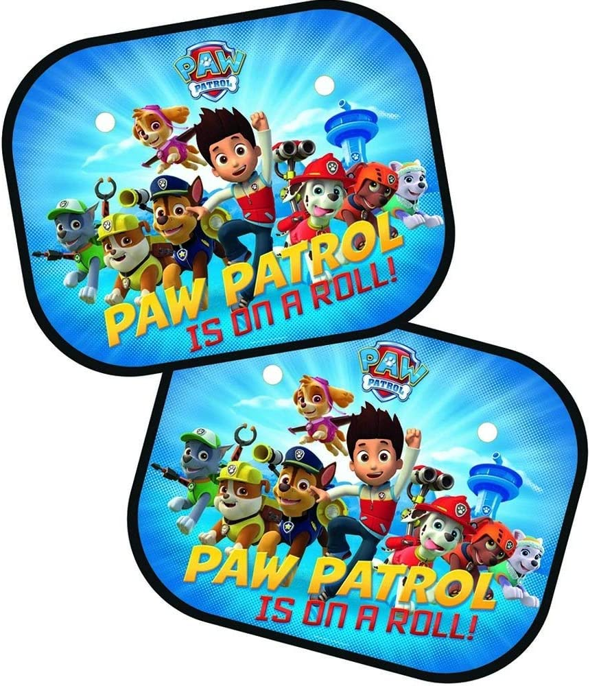 Kinder Paw Patrol/' Patrol Ist auf einer Rolle!/' Autofenster Sonnenblende 2er Set
