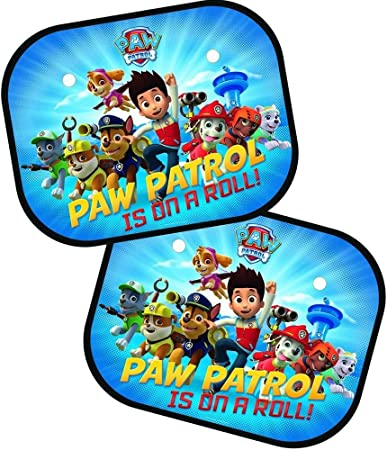 Paw Patrol 2796 Ppssg1 Sonnenschutzmittel Set Von 2 Auto