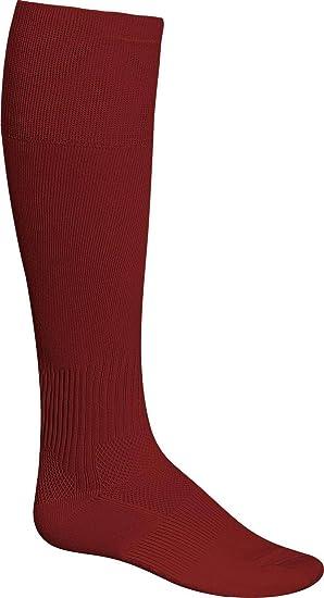 Admiral - Calcetines de fútbol, Hombre, Color Granate, tamaño Infantil