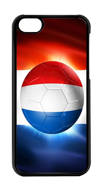 Carcasa de Protección para iPhone 5 C - Balón de fútbol Bandera ...